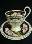 SOLD RIDGWAY Regency coffee cup and saucer